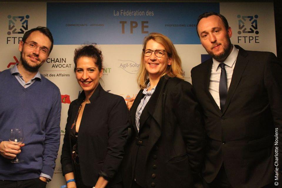 Sébastien Duflot (Bestmarques) - Laure Keuleyan (C Moi l'Kdo) - Stéphanie Lamy (Avocat) - Jean-Matthieu Delacourt (GreenCottages)